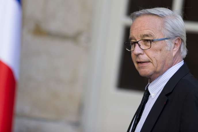 François Rebsamen, en mai 2015, à Matignon.