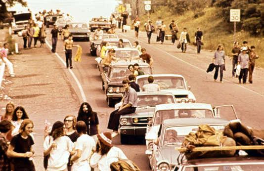 Sur la route de Woodstock.