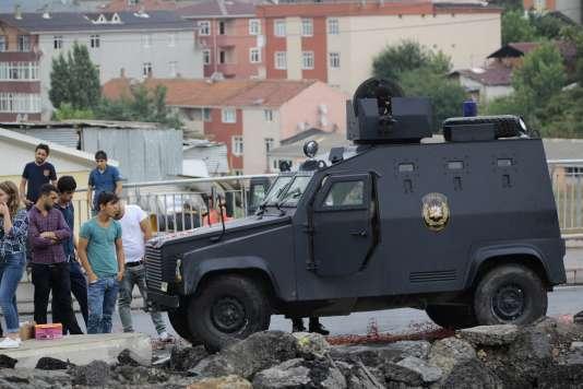 A Istanbul, le 10 août.