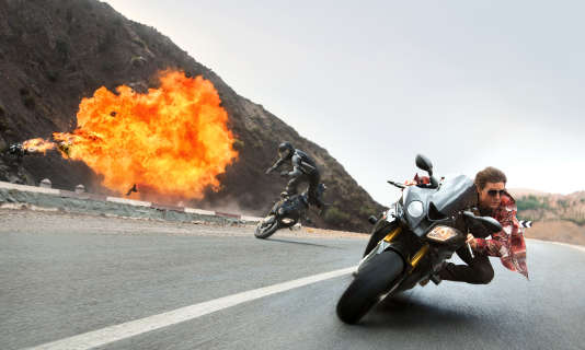 """Tom Cruise dans """"Mission : Impossible – Rogue Nation""""."""