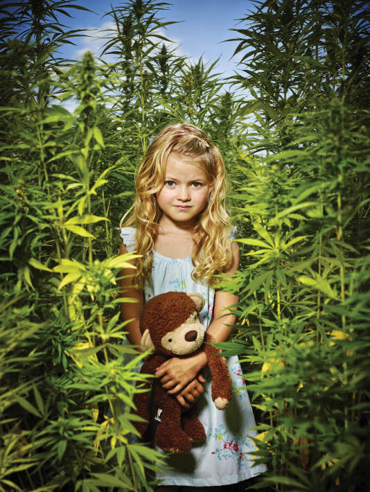 """La jeune actrice, Amber-Robin-Berentsen dans le rôle de Filippa Augustinus dans la série hollandaise """"Hollands Hoop""""."""