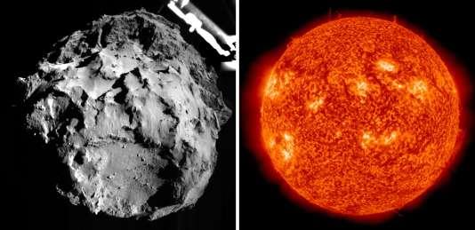 La comète Tchouri, accompagnée de la sonde européenne Rosetta, atteindra jeudi 13août son périhélie, le point sur son orbite qui est le plus proche du Soleil.