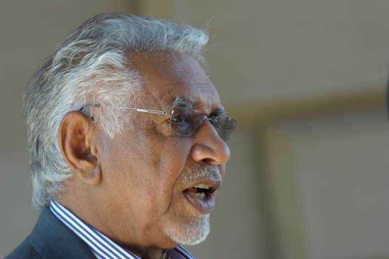 Mac Maharaj, alors porte-parole de la présidence sud-africaine.