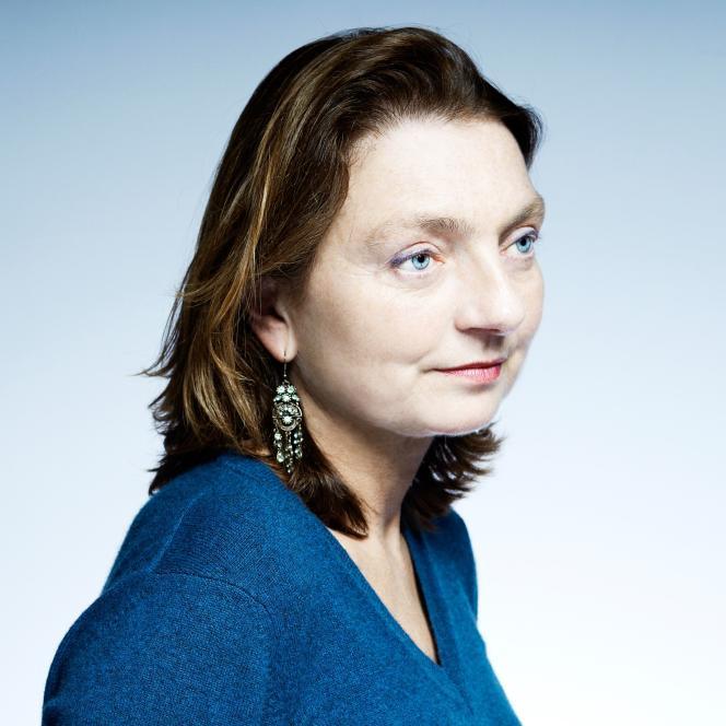 La cinéaste Solveig Anspach à Arras, France, le 17 novembre 2013.