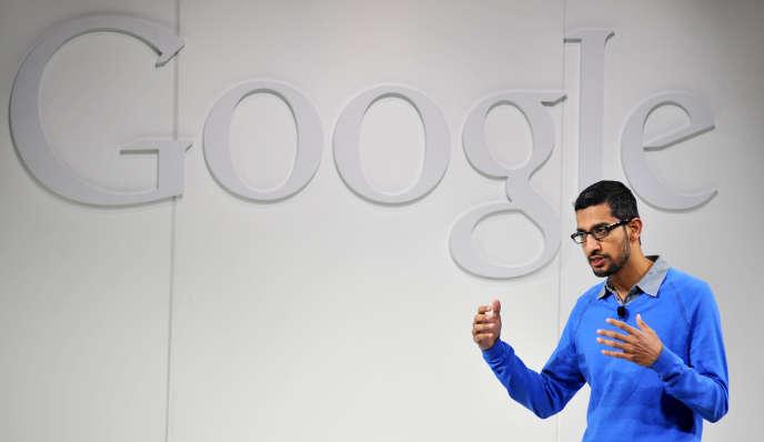 Sundar Pichai, nouveau directeur général de Google, en 2013.