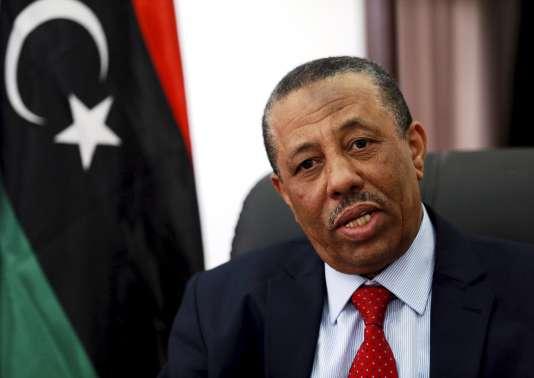 Abdallah Al-Theni, le 15 février, à Al-Baîda.