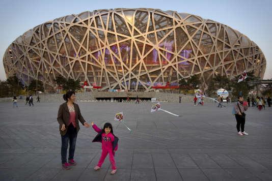 Le Stade national de Pékin, surnommé le Nid d'oiseau, accueillera les championnats du monde 2015, du 22 au 30 août.