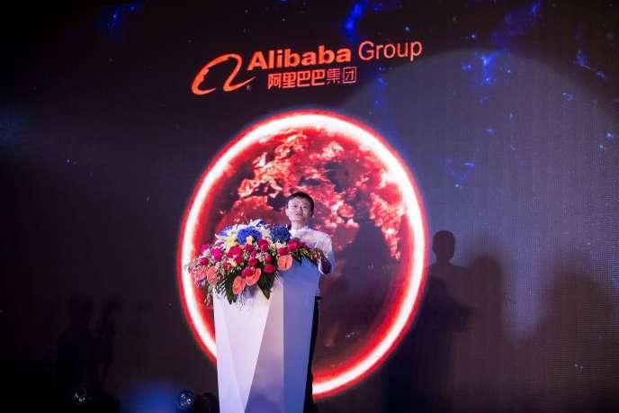 Alibaba a annoncé un chiffre d'affaires en progression de 28 % sur un an, à 3,27 milliards de dollars (2,94 milliards d'euros).
