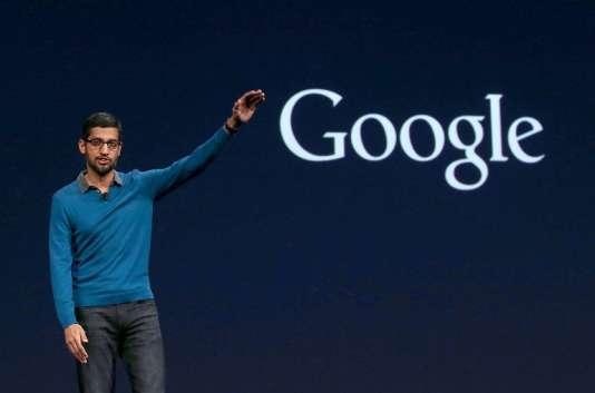 Sundar Pichai, le nouveau directeur général de Google après la restructuration de l'entreprise.