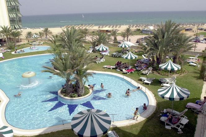 Les nombreux hôtels de Yasmine Hammamet sont désormais désertés par les touristes.