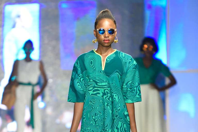 A la Brazza Fashion Night 2015, défilé du créateur ivoirien Elie Kuame.