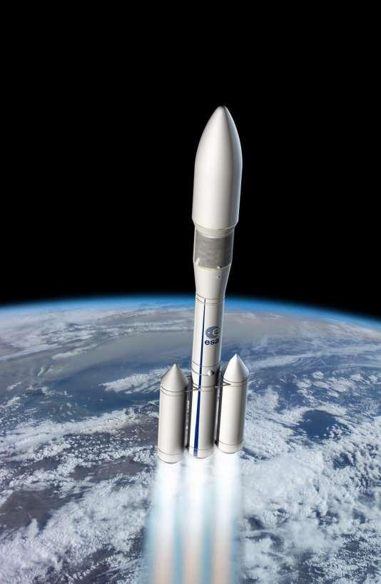 Le futur lanceur européen «Ariane-6».