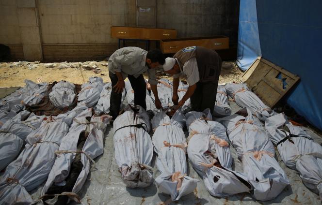 L'armée syrienne a tué au moins 31 civils dans des frappes aériennes sur le quartier de la Ghouta, à l'est de Damas, selon l'OSDH.