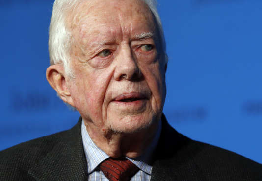 L'ancien président des Etats-Unis Jimmy Carter, âgé de 90 ans, est atteint d'un cancer du foie.