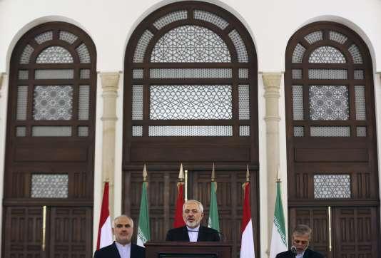 Mohammad Javad Zarif se rend, mercredi, dans la capitale syrienne pour discuter avec le régime de Damas d'un plan pour la Syrie.