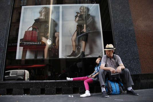 Touristes chinois à Paris, le 12 août.