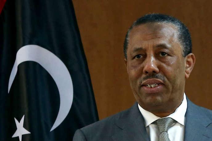 Abdallah Al-Thani, le premier ministre reconnu par la communauté internationale, a annoncé qu'il remettrait sa démission, dimanche 16 août au parlement.