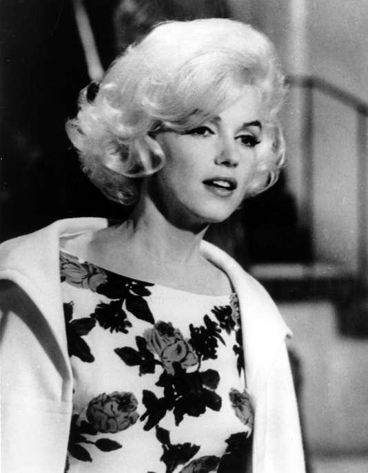 "Marilyn Monroe lors du tournage de son dernier film ""Something's Got To Give,"" à Hollywood en avril 1962."