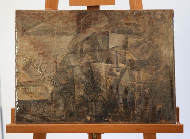 Peinte par Picasso, « La Coiffeuse » a disparu pendant dix-sept ans, avant d'être retrouvée dans un colis à destination des Etats-Unis.
