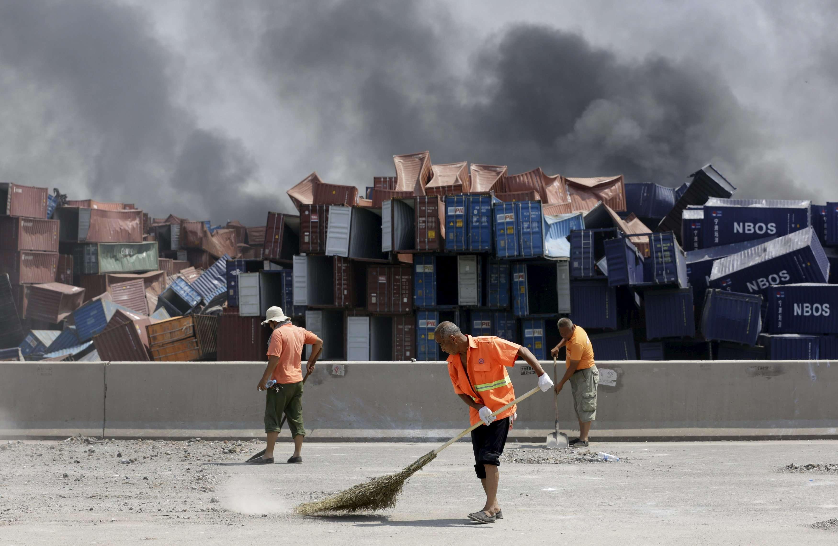 Le respect des normes de sécurité dans les complexes industriels reste problématique en Chine.