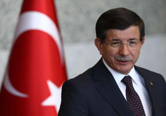 Le premier ministre, Ahmet Davutoglu, en juillet à Ankara.