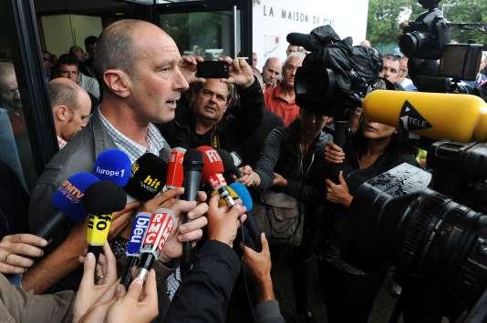 Michel Bloc'h a réclamé une réunion d'urgence avec le premier ministre, jeudi 13 août.