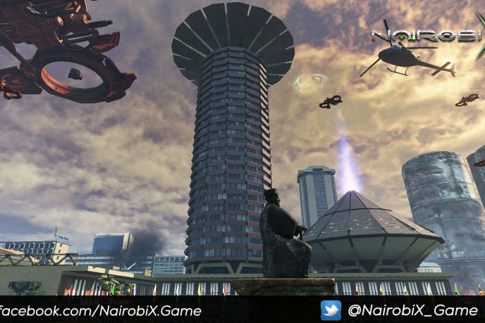Capture d'écran du jeu vidéo Nairobi X. Crédit : BLACK Division Games