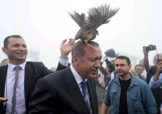 Recep Tayyip Erdogan, à Rize, le 14 août.