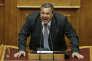 Le ministre de la défense grec, Panos Kamménos.