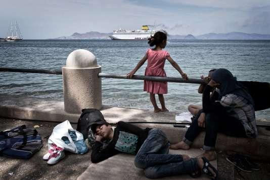 A Kos, en Grèce, le 14 août.