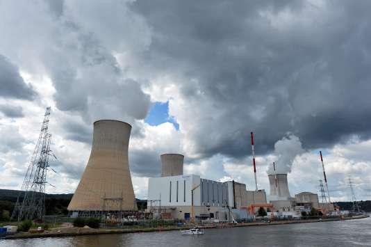La centrale nucléaire de Tihange, en Belgique, en août 2014.