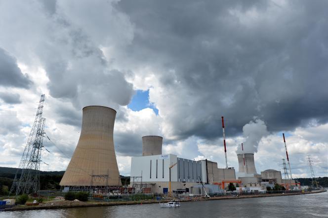 La centrale de Tihange, près de Liège (sud-est de la Belgique).
