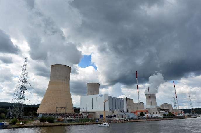 La centrale nucléaire de Tihange, en Belgique.