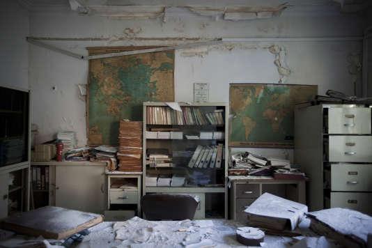 """""""Halkida Factory"""", de Myrto Papadopoulos."""