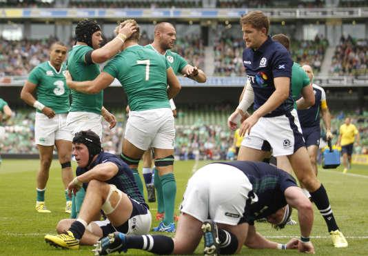 L'Irlande a battu l'Ecosse samedi (28-22).