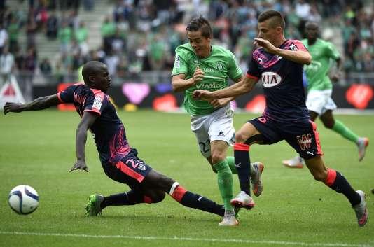 Bordeaux a égalisé in extremis à Saint-Etienne samedi lors de la 2e journée de Ligue 1 (1-1).