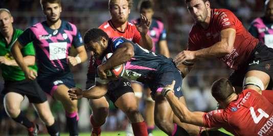Le Racing est venu à bout de Toulon en ouverture du Top 14, le 21 août au stade Mayol.