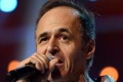 Jean-Jacques Goldman lors d'un concert des Enfoirés à Strasbourg, le 15 janvier 2014.