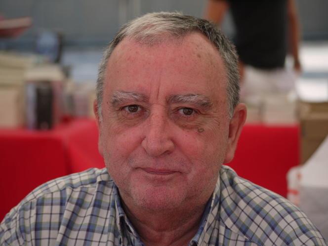 Rafael Chirbes, durant l'édition 2009 des rencontres de la Comédie du Livre à Montpellier.