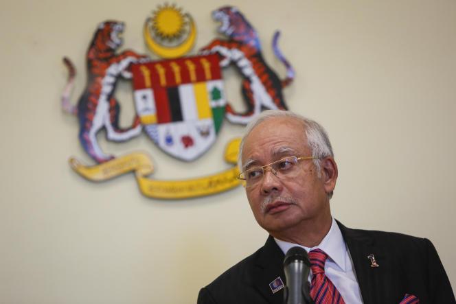 Najib Razak, à Putrajaya (Malaisie), le 14 août.