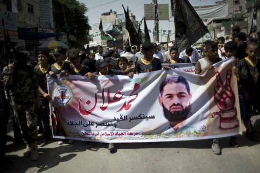 Manifestation en soutien à Mohammed Allan.