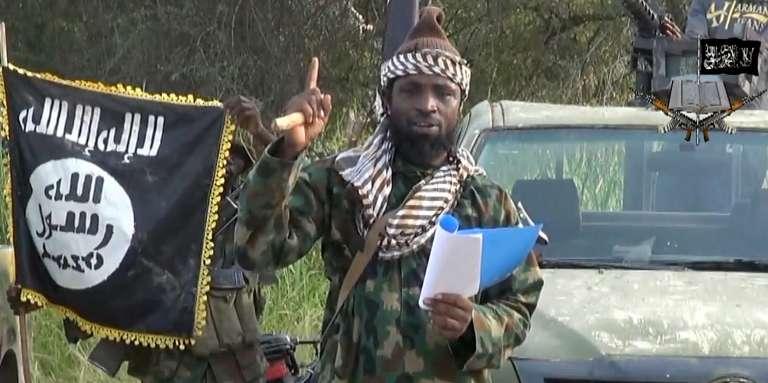 Capture d'écran d'une vidéo d'Abubakar Shekau, le chef du groupe terroriste nigérian Boko Haram, publiée en octobre 2014.