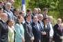 François Hollande et l'ensemble du gouvernement, à l'Elysée, le 31 juillet.