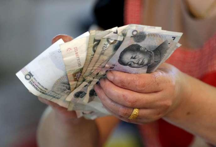 La Chine a dévalué le yuan en août.
