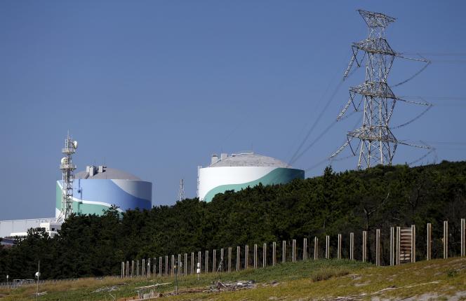 La centrale nucléaire de Sendai, au Japon.