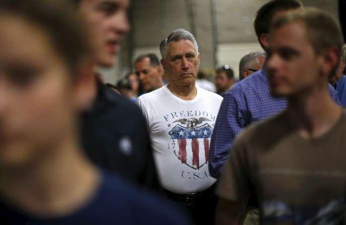 A un meeting du sénateur républicain du Kentucky Rand Paul, à Niles (Illinois), le 1er août.