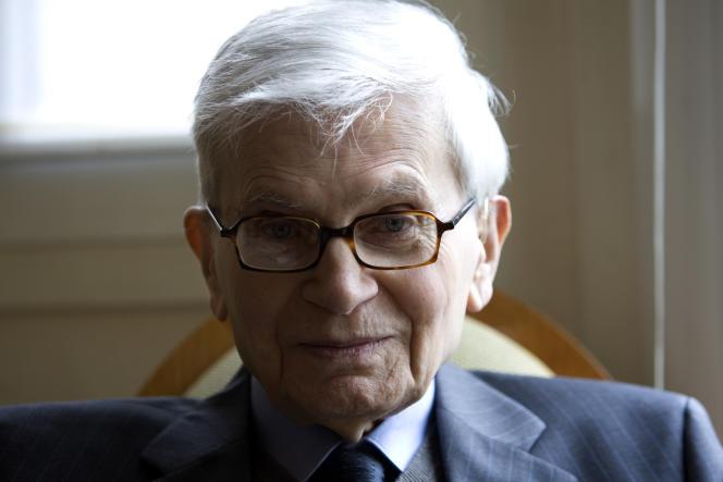 Bernard d'Espagnat, à Paris, en 2009.