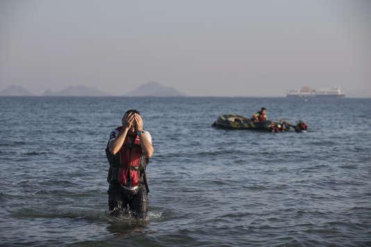 L'île de Kos, située à environ 20 kilomètres des côtes turques, est la principale destination de ces réfugiés venus du Moyen-Orient ou de l'Extrême-Orient