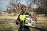 Caster Semenya en juillet, à Potchefstroom (Afrique du Sud).