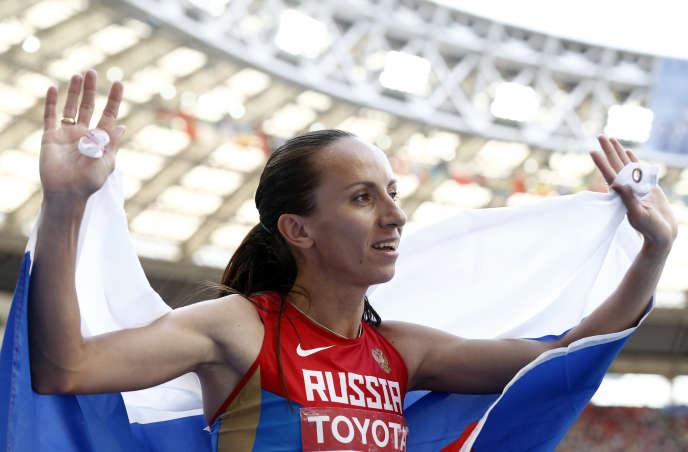 Mariya Savinova fait partie des athlètes russes soupçonnés de dopage.
